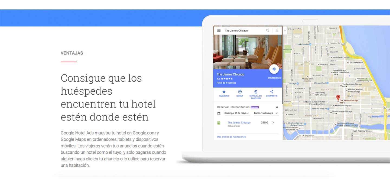 Google hotel ads ventajas