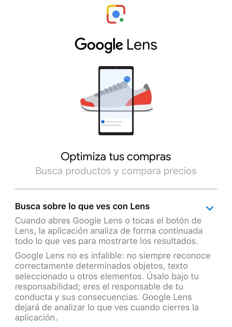 google lens optimiza tus compras