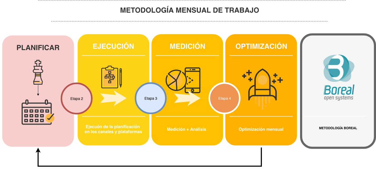 metodología de marketing boreal